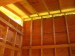 Smokehouse interior