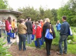 UBC Alumni and family visiting the farm during Alumni Weekend this past Saturday