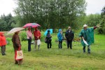 UBC Soil Scientist Dr. Art Bomke leading a farm biodiversity tour