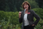Vancouver-Quadra Liberal MP Joyce Murray came out to voice her support for the UBC Farm and urban agriculture